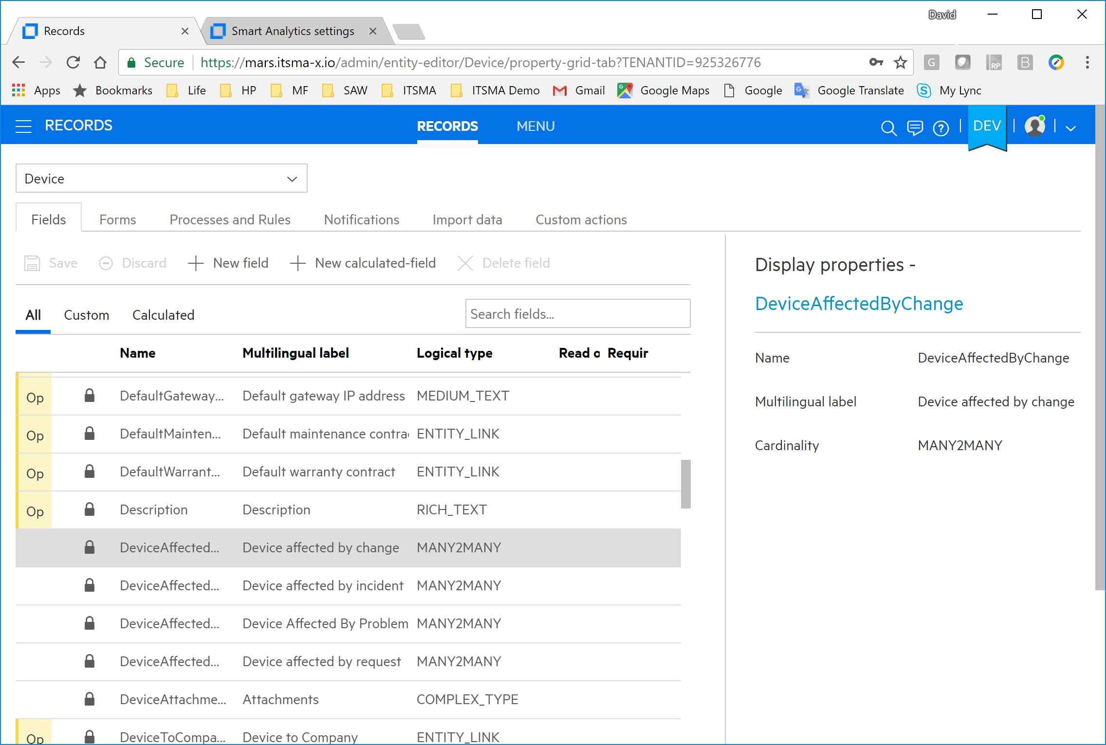 Generate report based on PostgreSQL views