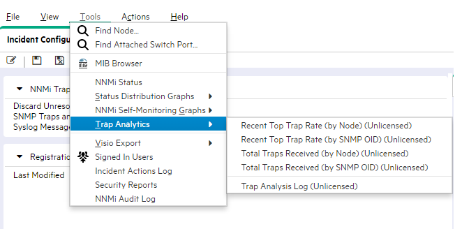 SNMP Trap Management