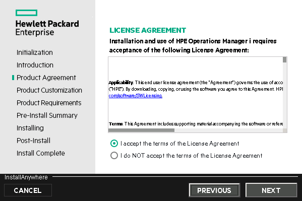 HPE Operations Manager i