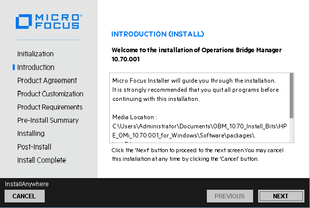Operations Bridge Manager