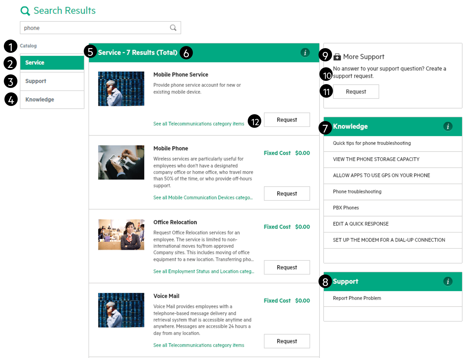 Customize the Search Results page