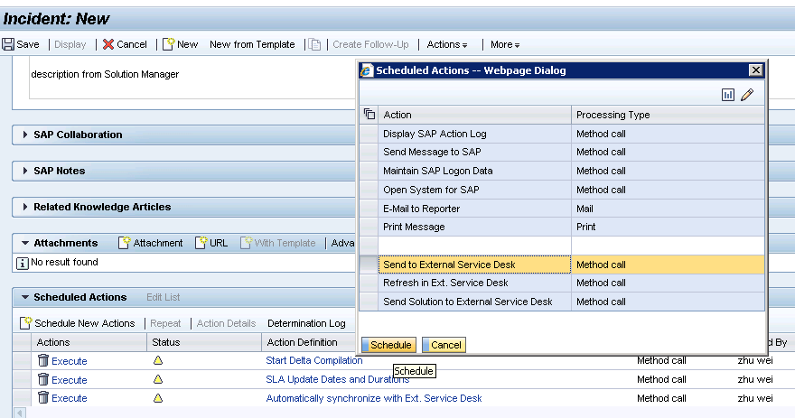 SAP Solution Manager 7 1 to SM 9 31