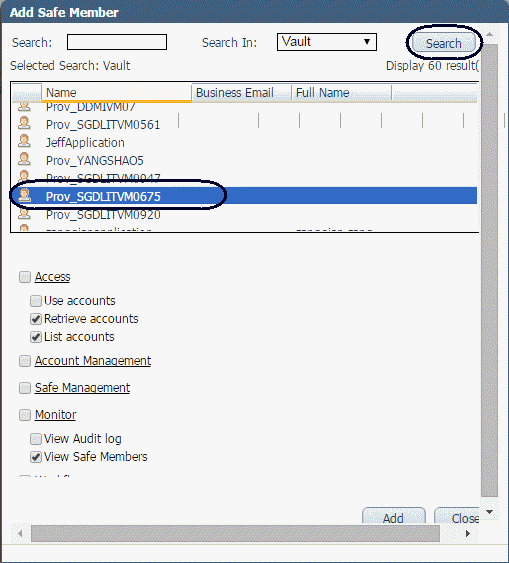 How to Create and Configure CyberArk Account for the Integration